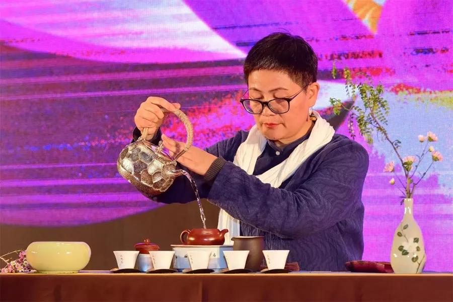 心如莲花茶艺表演
