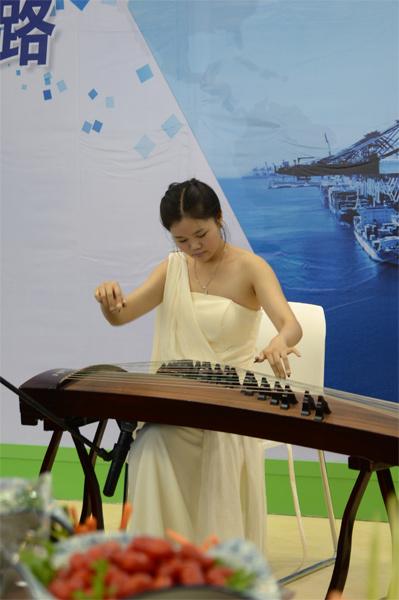 心馨茶艺古筝表演
