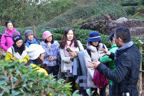 心馨武夷山茶文化之旅走茶山